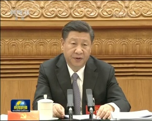 党的十九大主席团举行第二次会议 习近平主持会议