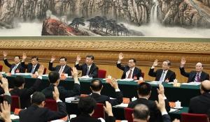 党的十九大主席团举行第四次会议