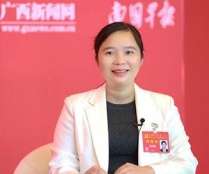 专访十九大代表、陆川县陆河村党总支书记梁丽娜