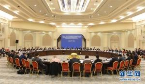 十九大精神对外宣介团访问乌兹别克斯坦