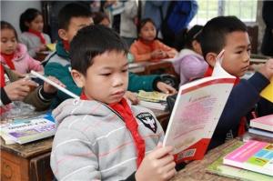 国海富兰克林基金将书香送进贫困乡村