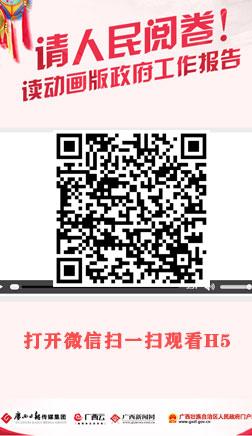 广西新闻网在两会期间推出微动画作品