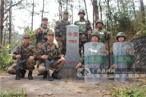[新春走基层]宁明驻军边防官兵春节边境巡逻保平安