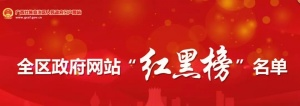 """广西全区政府网站""""红黑榜""""名单出炉"""