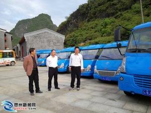 昭平县质监局开展旅游景区内摆渡车安全检查