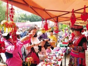 歌舞民俗壮乡韵 旅游市场人气高