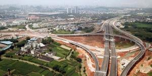 柳州市东外环北段已现雏形 年底建成通车