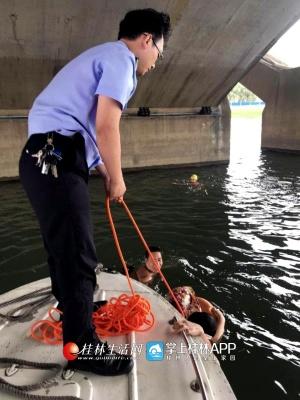 外地女子游泳遇险两男施救 不料三人同时溺水(图)