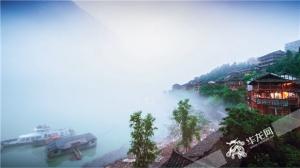 全国百家网媒记者:游龚滩古镇 赏梯玛古歌 醉乌江画廊