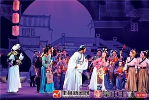 大型桂南采茶戏 《绿珠女传奇》首演