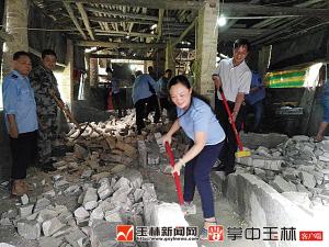 为环境让道 陆川县拆除猪场164家
