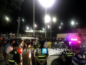 桂林:轻微事故引上百人围攻 叠彩公安抓捕33人