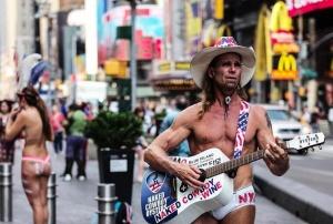 纽约市遭遇高温天气