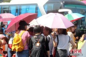 今明天北京晴热暴晒天气将持续 最高气温达35℃