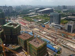 6月22日焦点图:南宁地铁4号线19个车站已封顶12个