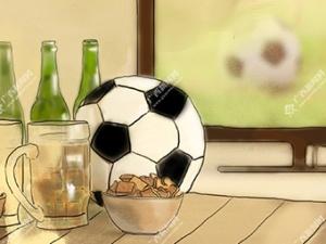 【新桂漫画】熬夜看球