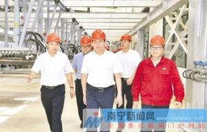 王小东到宾阳县调研实施乡村振兴战略工作