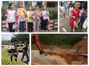 7月7日焦点图:柳州一学校发猪肉奖励学生