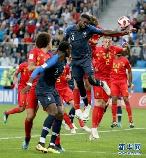 乌姆蒂蒂头球定江山 十二年后法国进决赛