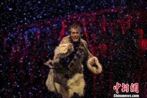 原创民族舞剧《天路》揭幕第十二届全国舞蹈展演