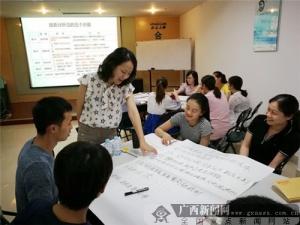 合众人寿广西分公司开展《问题分析与解决》培训班