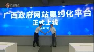 广西政府网站集约化平台上线