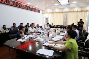 自治区副主席费志荣到广西科协调研指导工作