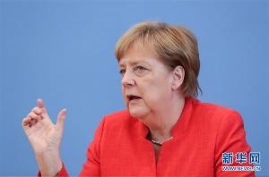 默克尔:愿与美国继续合作但欧洲不能再依靠美国