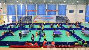 2018年全国残疾人乒乓球挑战赛24日在金昌开赛