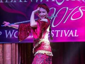 埃及肚皮舞节上的中国舞者