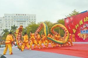 """边陲龙州""""龙元节"""":与龙共舞的盛会"""