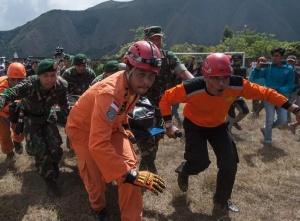 印尼成功撤离543名被困火山游客