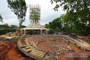 封宁副厅长调研南宁国际园博园项目建设进展情况