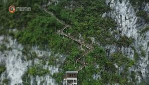 """悬崖绝壁造""""天路"""" 探寻矗立在千米高峰上的588号""""边防勇士"""""""