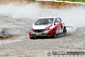 中国汽车短道拉力赛重返广西 参赛人数创赛会新高