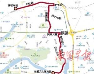 南宁优化调整5条公交线路 这些车能到东盟文化博览园