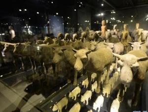 秦始皇帝陵与汉景帝阳陵出土陶俑展在西安展出
