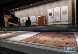 南京大报恩寺宋代丝绸展