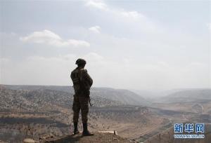 叙政府军在耶尔穆克谷地布防