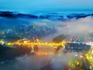 流光溢彩让人着迷 广西的夜景那么美,你知道吗?