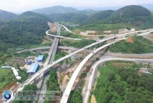 河百高速公路百色段顺利推进 将于今年11月份竣工