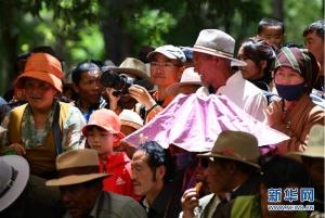 雪顿节引爆西藏旅游