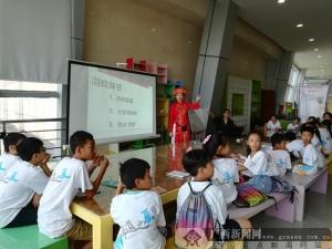 广西民族博物馆举办服饰文化研学体验营活动