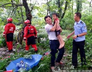 桂林绍水镇一家5孩童被洪水冲走 4人获救1人遇难