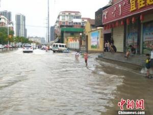 """台风""""温比亚""""致河南492.1万人受灾 损失13.9亿"""