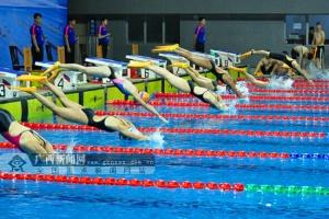 2018年全国青少年蹼泳锦标赛在梧州落下帷幕