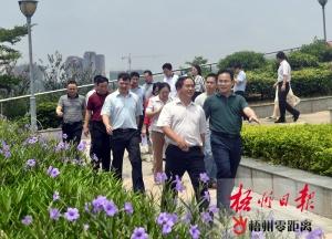 全桂寿调研旅游产业发展情况