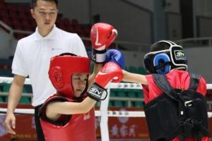 2018年玉林市首届广西少儿搏击邀请赛开赛(图)