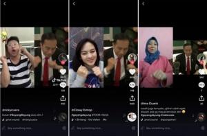 """印尼总统亚运会""""划船舞""""走红TikTok"""