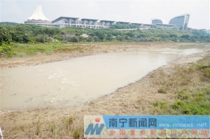 南宁民歌湖11月将恢复蓄水 重现碧波荡漾美景(图)